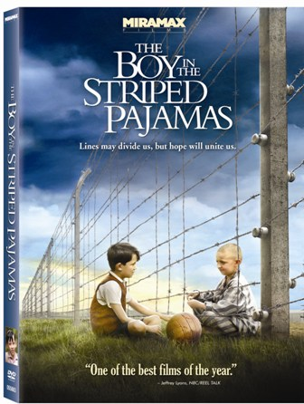 The Boy in the Striped Pajamas was released on DVD on March 10th, 2009.