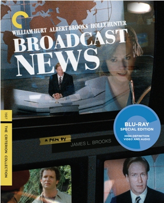 Broadcast News was released on Blu-Ray and DVD on January 25th, 2011