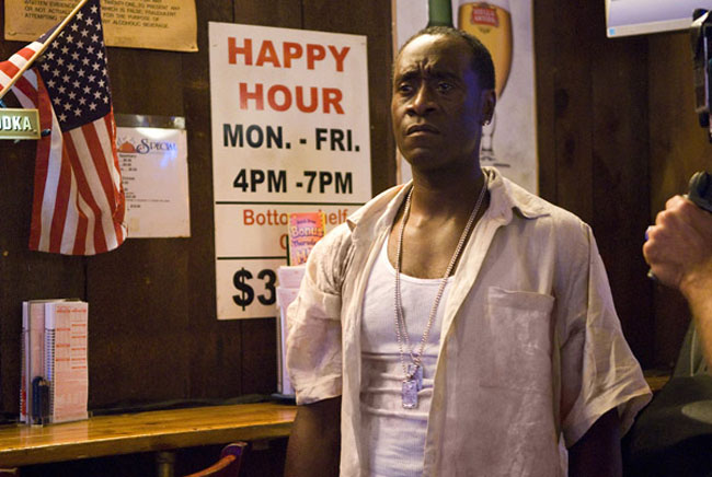 The Happy Hour: Don Cheadle in 'Brooklyn's Finest'