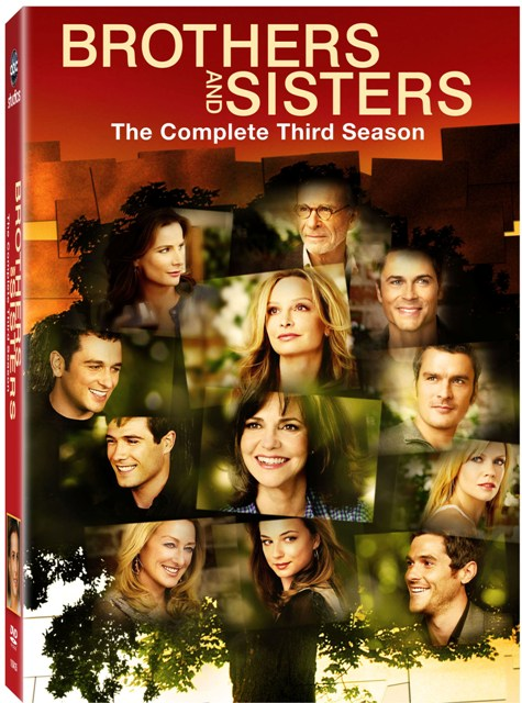 Brothers and Sisters: The Complete Third Season was released on DVD on September 1st, 2009.