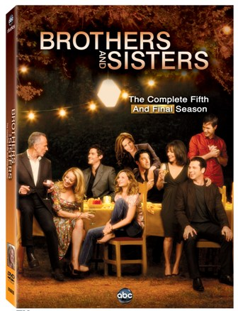 Brothers and Sisters: The Complete Fifth and Final Season was released on DVD on August 23rd, 2011
