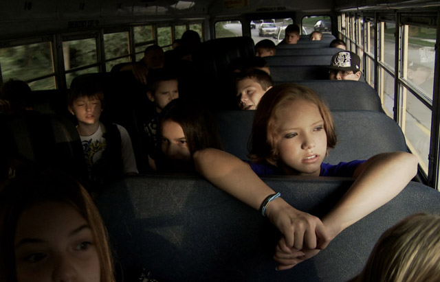 On the Bus in the film 'Bully'