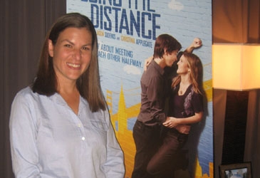 Director Nanette Burstein in Chicago, August 11th, 2010