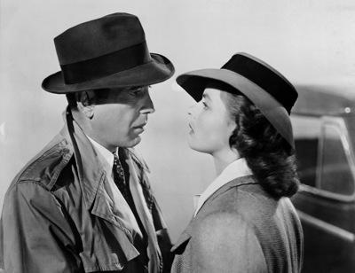 Humphrey Bogart and Ingrid Bergman star in Michael Curtiz's Casablanca.