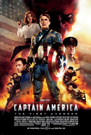 Captain America: The First Avenger was released on Blu-ray and DVD on October 25th, 2011
