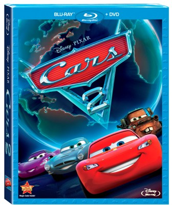 Cars 2 was released on Blu-ray and DVD on November 1st, 2011