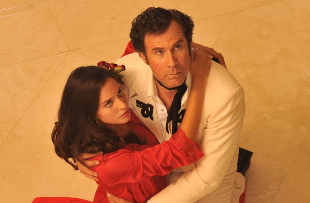 Power Couple: Genesis Rodriguez (Sonia) and Will Ferrell (Armando) in 'Casa de mi Padre'