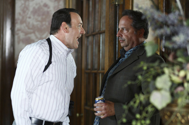Kevin Spacey and Jon Lovitz in 'Casino Jack'