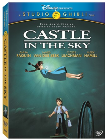 Castle in the Sky was released on DVD on March 2nd, 2010.