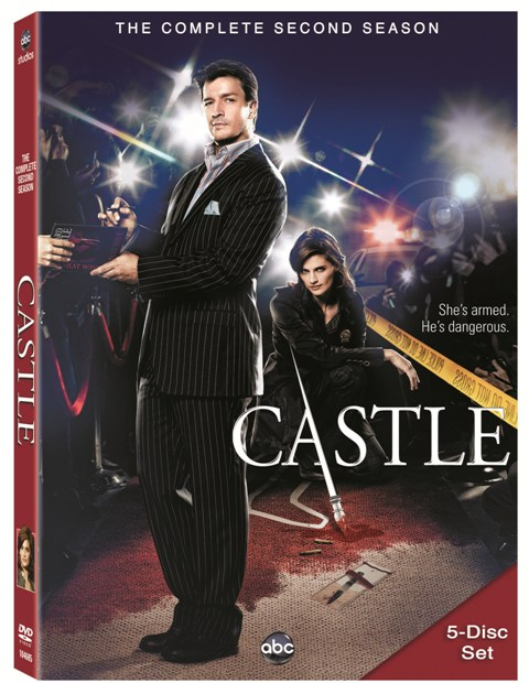 Castle: The Complete Second Season was released on DVD on September 21st, 2010