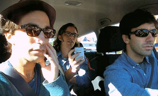 On the Road with Ariel Schulman, Henry Joost (backseat) and Nev Schulman in 'Catfish'