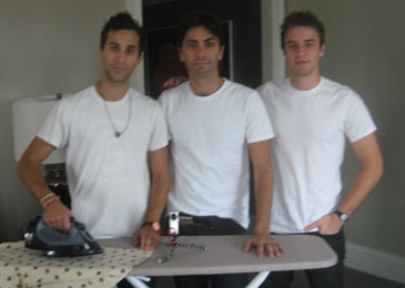 Ironing Out the Details: Ariel Schulman, Nev Schulman and Henry Joost of 'Catfish' in Chicago, September 20th, 2010