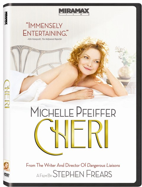 Cheri will be released on DVD on October 20th, 2009.