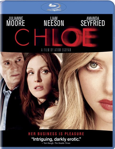 Chloe was released on Blu-Ray and DVD on July 13th, 2010.