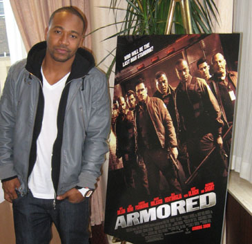 Columbus Short in Chicago, October 27, 2009.