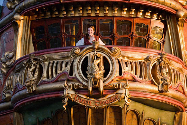 Ship of Dreams: Lucy (Georgie Henley) is at Home in 'The Chronicles of Narnia: The Voyage of the Dawn Treader'