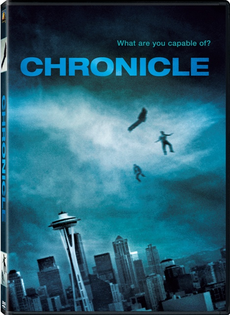 Chronicle was released on Blu-ray and DVD on May 15, 2012
