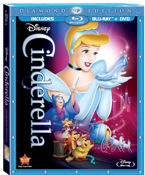 Cinderella was released on Blu-ray on October 2, 2012