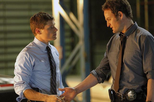 Partners in Crime Fighting: Matt Lauria and Jason Clarke of 'Chicago Code'