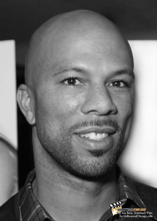 Just Right for Chicago: Common at the 'Just Wright' Premiere, April 28th, 2010