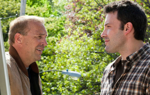 Kevin Costner (Jack) and Ben Affleck (Bobby) in  'The Company Men'