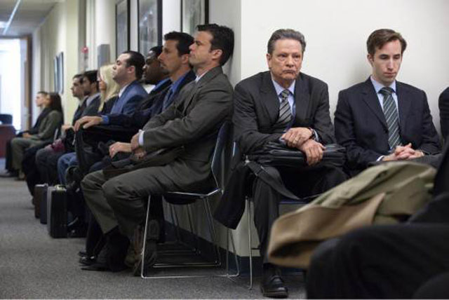 Chris Cooper (second right) Tries to Cope as Phil in 'The Company Men'