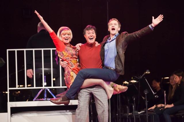 Martha Plimpton, Stephen Colbert and Neil Patrick Harris star in Lonny Price's production of Stephen Sondheim's Company.