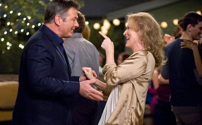 Lust, Caution: Alec Baldwin as Jake and Meryl Streep as Jane in 'It's Complicated'
