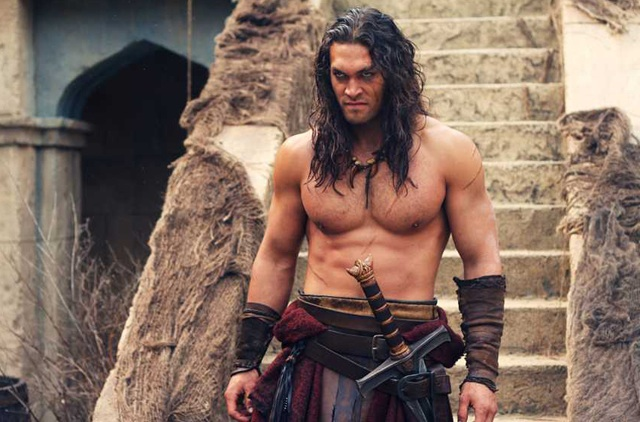 My Kingdom for a Gym: Jason Momoa as  'Conan the Barbarian''