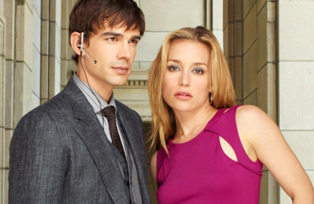 Not Your Daddy's CIA: Christopher Gorham (Auggie) and Piper Perabo (Annie) in 'Covert Affairs'