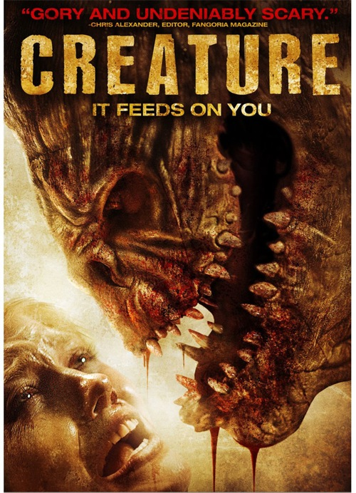 Creature was released on DVD on March 20, 2012.