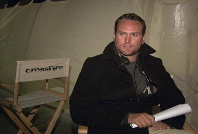 Director and Writer Brian A Miller on the Set of 'Caught in the Crossfire'