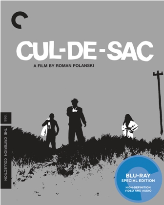 Cul-de-sac was released on Criterion Blu-ray and DVD on August 16th, 2011