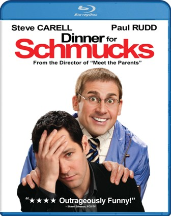 Dinner For Schmucks was released on Blu-Ray and DVD on January 4th, 2011.