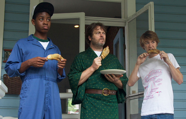 RJ Cyler, Nick Offerman, Thomas Mann
