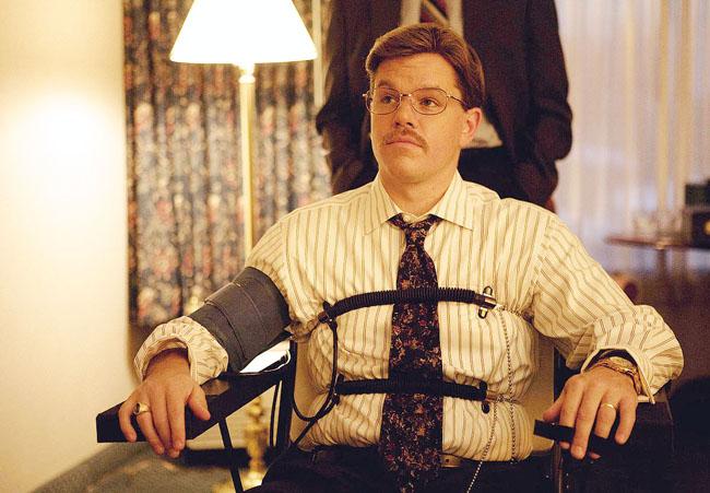 The FBI: Scott Bakula and Joel McHale as agents with Matt Damon in 'The Informant!'