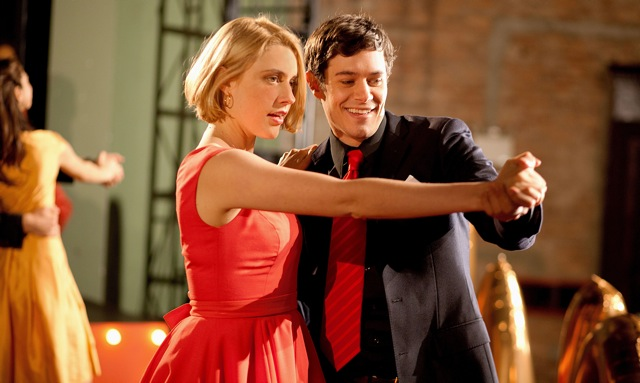 Greta Gerwig and Adam Brody star in Whit Stillman's Damsels in Distress.