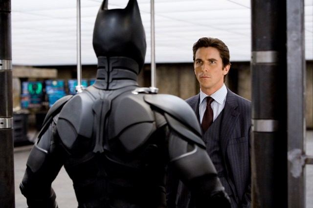 Christian Bale stars as Bruce Wayne in Warner Bros. Pictures' and Legendary Pictures' action drama The Dark Knight