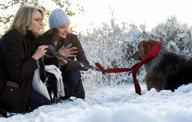 Diane Keaton (Beth) and Elizabeth Moss Rescue Freeway in 'Darling Companion'