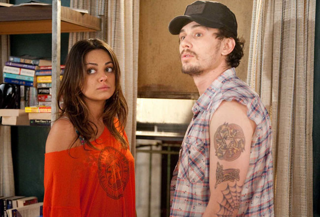 Feed on This: Mila Kunis as Whippet and James Franco as Taste in 'Date Night'