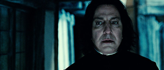 Alan Rickman stars in Harry Potter and the Deathly Hallows: Part 2.