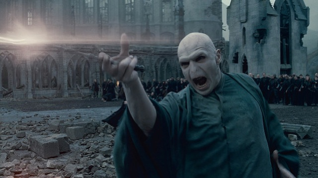 Ralph Fiennes stars in Harry Potter and the Deathly Hallows: Part 2.