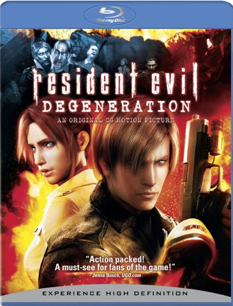Resident Evil: Degeneration was released by Sony Pictures Home Video on December 30th, 2008.