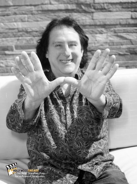 Denny Laine at the Chicago Fest for Beatles Fans, August, 2010