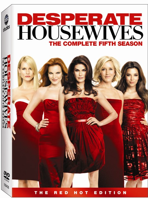 Desperate Housewives: The Complete Fifth Season was released on DVD on September 1st, 2009.