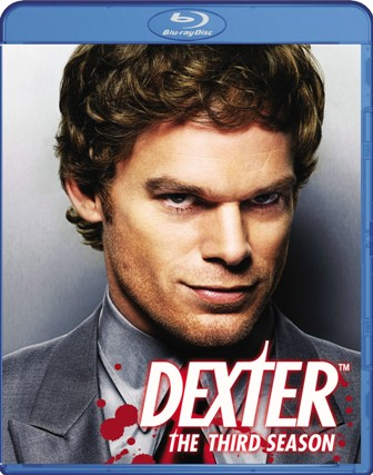 Dexter: Season Three was released on DVD and Blu-Ray on August 18th, 2009.