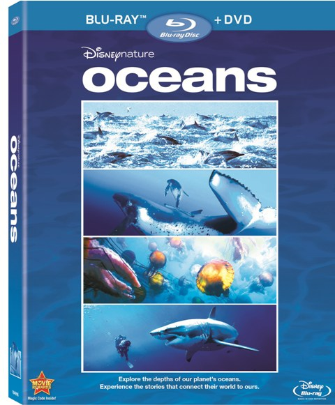 Oceans was released on Blu-ray and DVD on October 26th, 2010