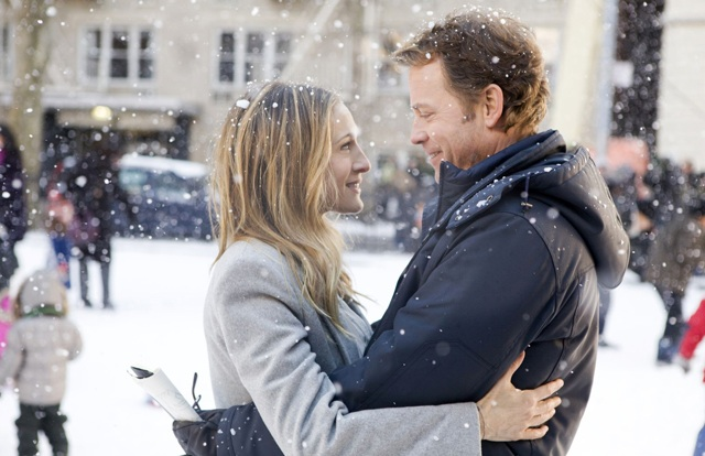 Smooth Sledding: Sarah Jessica Parker and Greg Kinnear as Hubby Richard in 'I Don't Know How She Does It'