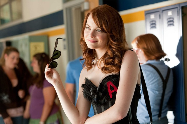 A-Em: Emma Stone as Olive in 'Easy A'