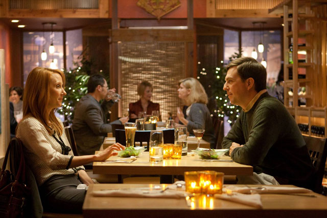 Two of Us: Anne Heche as Joan and Ed Helms as Tim in 'Cedar Rapids'